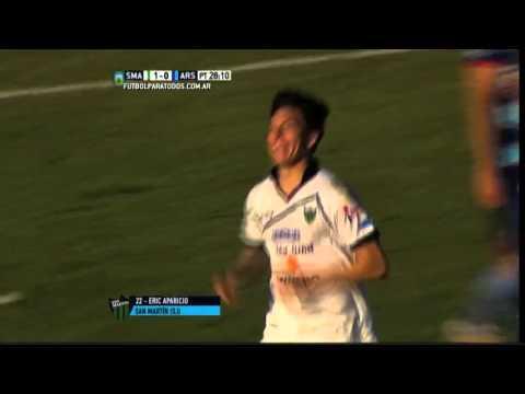 San Martín cerró el campeonato con un triunfo ante Arsenal