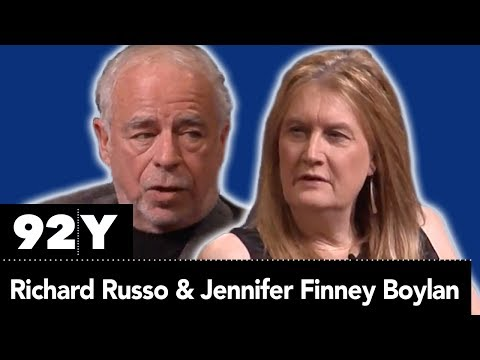 Richard Russo On Fathers, Sons, And Friendship In Conversation With Jennifer Finney Boylan