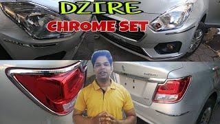 || Maruti Suzuki DZire  || Chrome kit ||