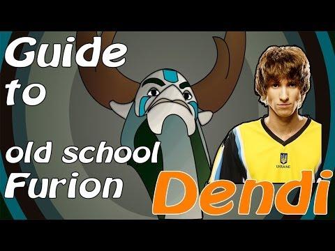 видео: dendi furion (natures prophet) по Фарму Чемпион + commentary dendi dota 2