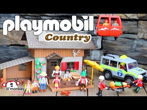 Playmobil Country Mountain Life Collection!