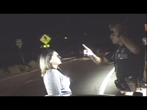 State Police officer moved to tears after DWI stop