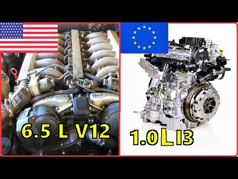 The Diffrence Between The Typical AMERICAN and EUROPEAN Engine