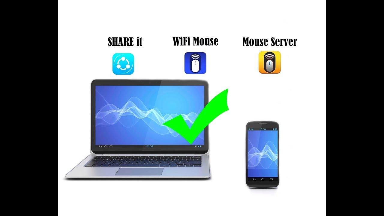 Menjadikan Smartphone Android sebagai Mouse Laptop/Komputer