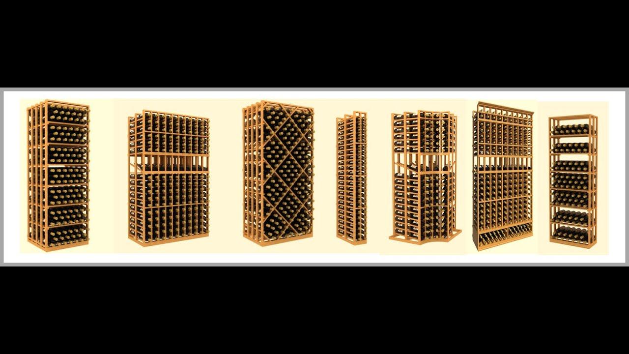 wood wine rack wood wine bottle rack youtube. Black Bedroom Furniture Sets. Home Design Ideas