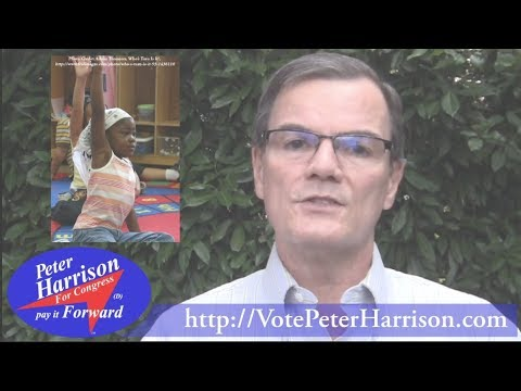 Education and Poverty ● Peter Harrison for Congress