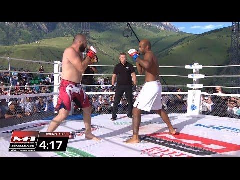 Marcus Vinicius Lopes vs Kurban Ibragimov, M-1 Challenge 69, July 16, Targim, Ingushetia