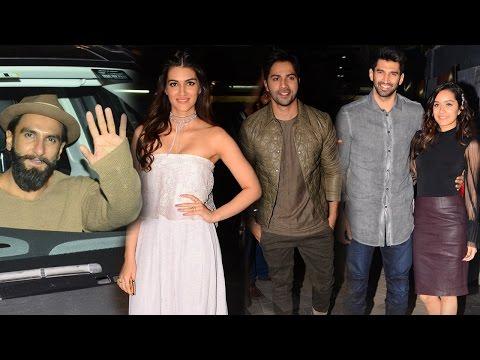 Bollywood Biggies Spotted At Ok Jaanu Movie Premiere