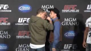 UFC 141  Diaz vs. Cerrone Staredown