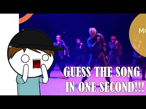 GUESSING KPOP SONGS IN 1 SECOND!