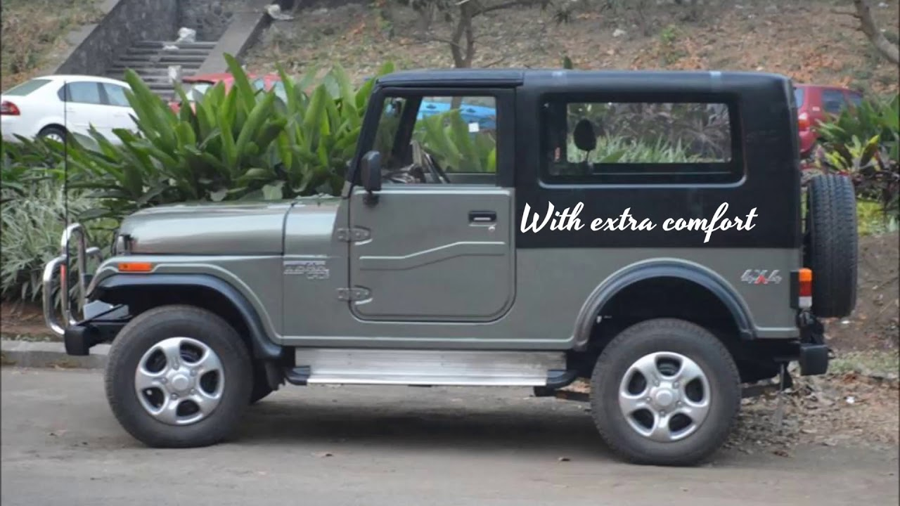 Mahindra Thar Modifed With Removable Hard Top Freedom Top