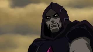 Лучший момент DC мультфильма. Лига справедливости. Демон Этриган  и Мерлин