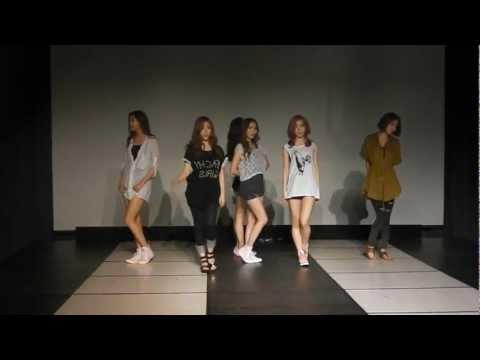 Dal★Shabet - Mr Bang Bang mirrored Dance Practice