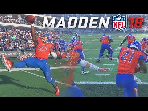 Madden 18 Ultimate Team - EZEKIEL ELLIOTT 100 YARD TOUCHDOWN RUN!?