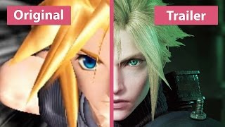 Final Fantasy VII – Original (PS4) vs. Remake Trailer Comparison