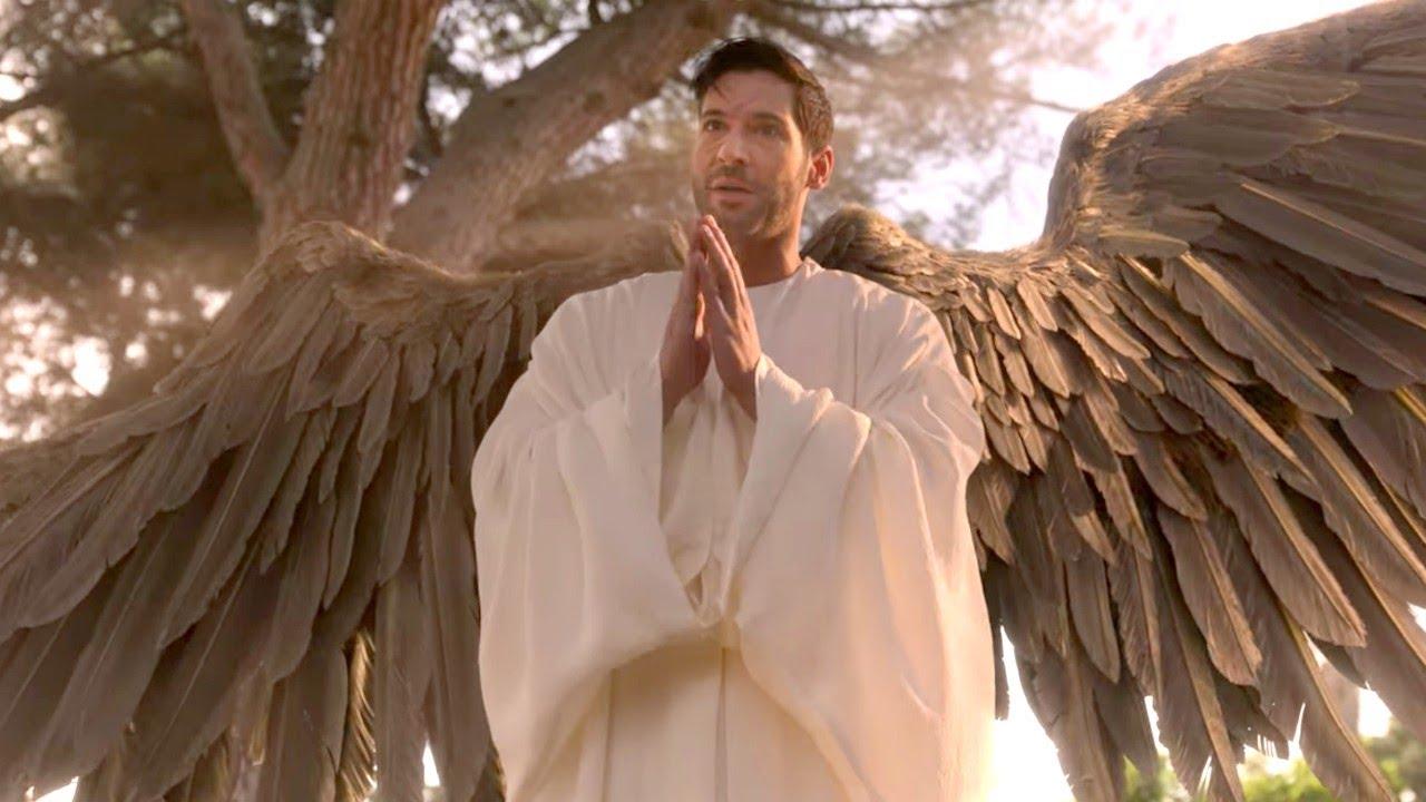 Download Daniel meets Archangel Michael | Lucifer Season 5 in Hindi