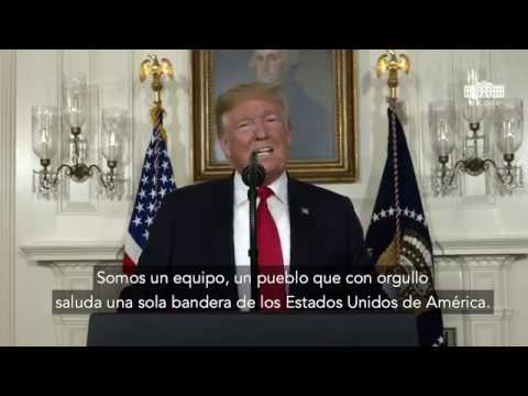 President Trump Delivers Remarks on the Humanitarian Crisis on Our Southern Border (Spanish)