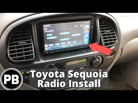 2001 - 2007 Toyota Sequoia Bluetooth Radio Install
