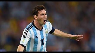 ARGENTINA VS PARAGUAY 2-0 13/06/2015 GOAL MESSI