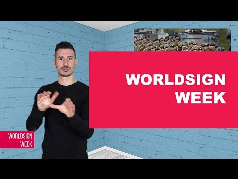 WORLDSIGN | Boko Harm Deaf Terrorist Arrested, Brexit is Official, Rainbow Wall by Deaf Children!