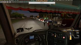 """""""Суровая Россия""""  катаем в Euro Truck Simulator 2"""