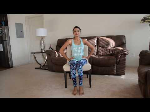 Dance Yoga / Chair Yoga /Yoga on Shape of You! (Desk Yoga)