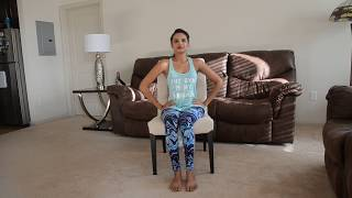 Dance Yoga / Chair Yoga /Yoga on Shape of You! (Desk Yoga)