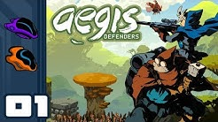 Let's Play Aegis Defenders - PC Gameplay Part 1 - Will Scrap For Curry!
