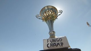 James Shields and Carson Fulmer play fungo golf with CFBBQ