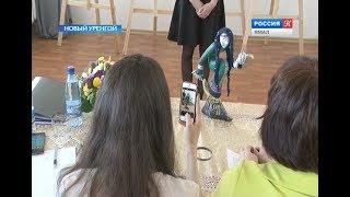 В Новоуренгойской художественной школе состоялась защита дипломных работ