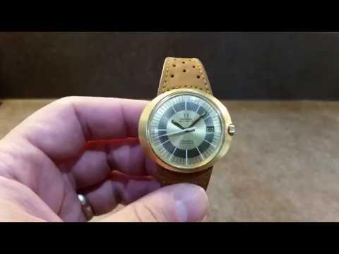 1971 Omega Geneve Dynamic bullseye vintage watch