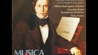 1/6 Allegro/Andante con moto - Introduction et airs Suédois variés pour Clarinette - Hakan Rosengren