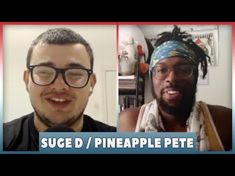 Suge D On Chris Jericho Influence, Working With AEW, Pineapple Pete Name ! | WrestleTalk Interviews