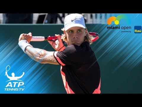 Querrey vs Shapovalov: Top 5 Best Shots   Miami Open 2018 Third Round