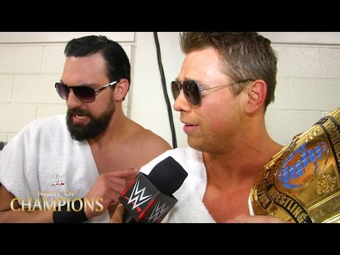 The Miz comments on winning the Intercontinental Championship at Night of Champions