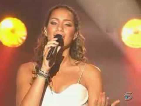 Leona Lewis - Bleeding Love Live @ Star Academy Spain