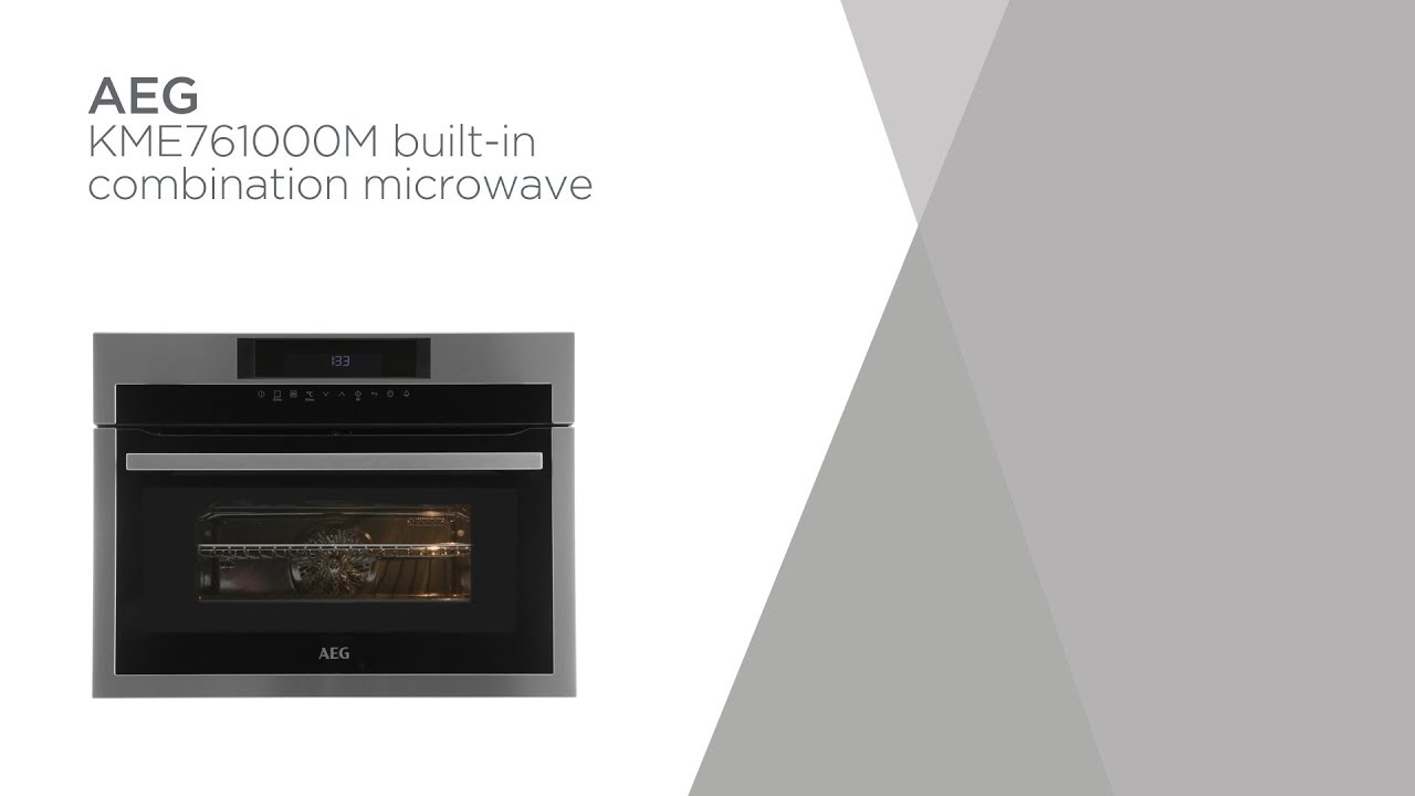 AEG KME761000M Built-in Combination Microwave - Stainless Steel ...