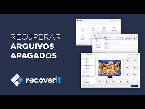 Recuperar Arquivos Apagados Com Recoverit