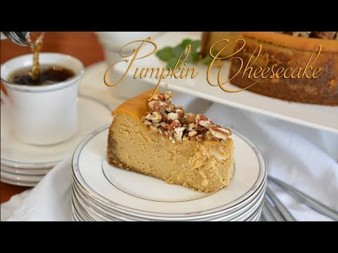 Pumpkin Praline Cheesecake | Thanksgiving Dessert