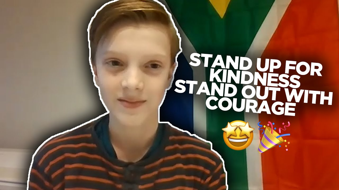 11 Year old runs a campaign on kindness at school