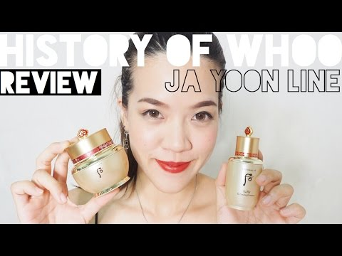 [Review] The History of Whoo Ja Yoon Cream สุดยอดครีมทาหน้าเลอค่า หน้าดีแบบเห็นผล