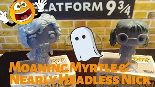 Moaning Myrtle & Nearly Headless Nick Funko POP Unboxing