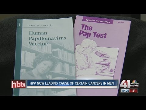 HPV leading cause of certain cancers in men