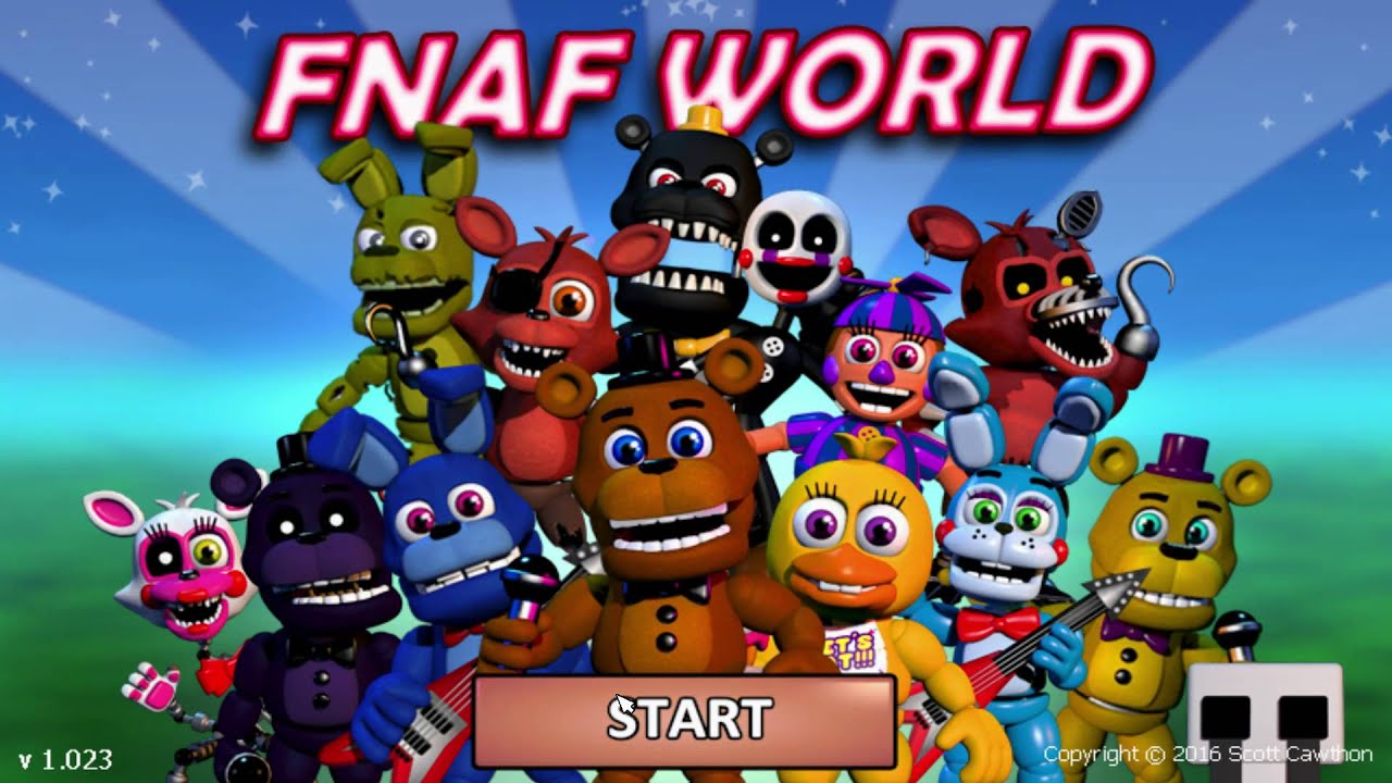 How to cheat in fnaf world all characters in lvl 999 and max tokens