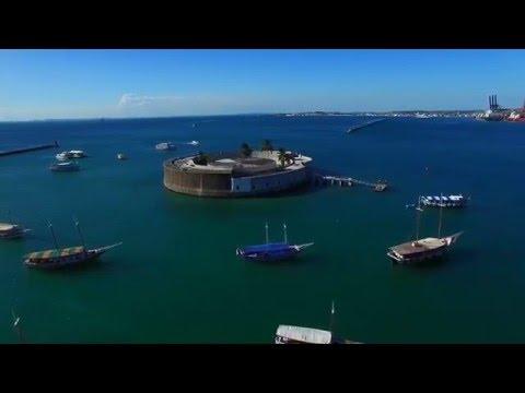 Cidade Baixa - Salvador - Bahia - Drone