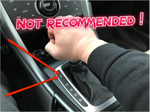 Thumbnail: What happens if you put your transmission in PARK while driving 65 mph ? (NOT Recommended !)