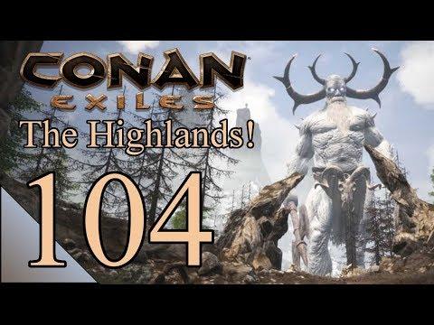 Conan Exiles 104:  The King Of The Barrows!  Let's Play Conan Gameplay