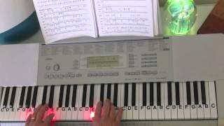 How to Play ~ At The Cross ~ Hillsong United ~ LetterNotePlayer ©