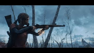 The Last Of Us Ellie Player Mod Gameplay #3 - Fallout 4 Survival Mode (PC) (60FPS)