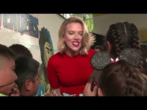 AVENGERS: ENDGAME Interviews: Chris Hemsworth Scarlett Johansson Paul Rudd Brie Larson Jeremy Renner